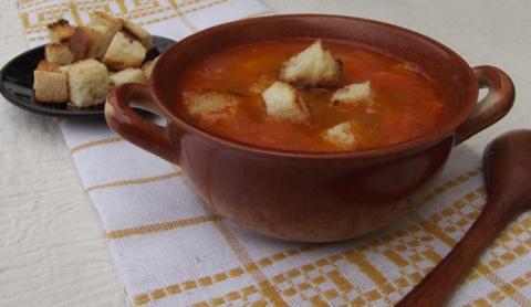 Картофельно-гороховый суп