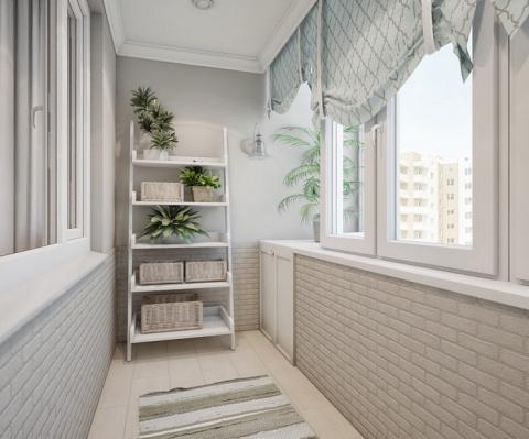Интерьеры балконов и лоджий, которые вам понравятся