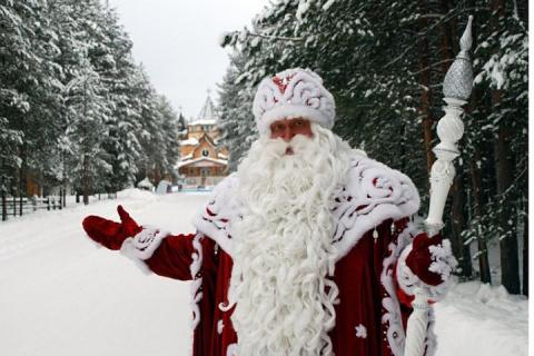 Дед Мороз приготовил подарок для Путина