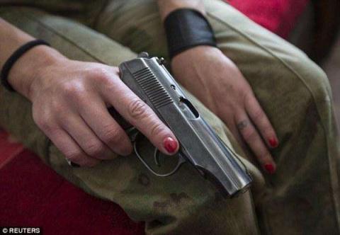 Женское лицо война на Украине