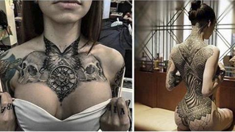 25+ Самых Безумных Татуирово…