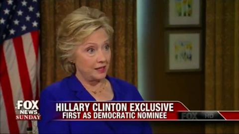 Мы сотрём Россию и её вассалов с лица Земли.- заявила госпожа Клинтон. А не надорвёшься тереть, ведьма?