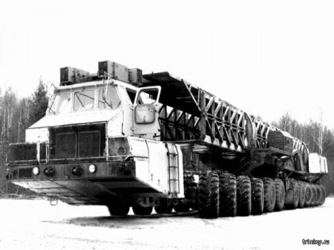 МАЗ-7907. Таких больше не бу…
