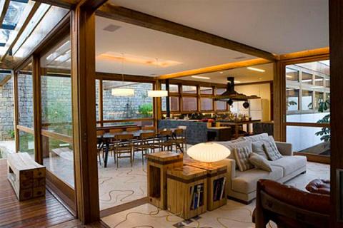 Проект одноэтажного дома Casa Grelha