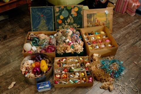 Ёлочные игрушки нашего детства