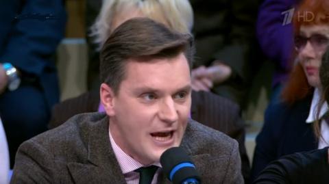 """""""Скоро вместо вас тут будут сидеть китайцы"""": на Первом канале ответили поляку и американцу, заявившим о безальтернативном лидерстве США..."""