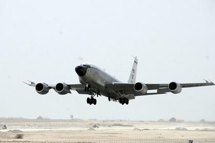Самолет-шпион у границ Росси…