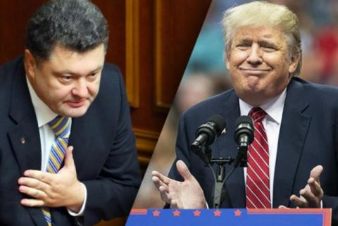Встреча Трампа и Порошенко в…