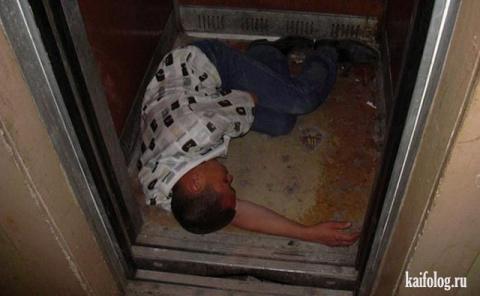 Чисто русские лифты (55 фото)