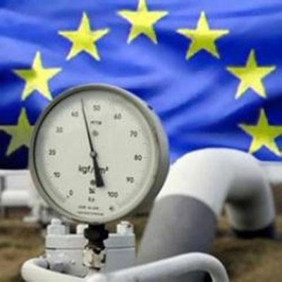 Запасы газа в хранилищах Евр…