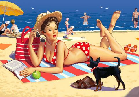 Красочные иллюстрации Петра Редькина