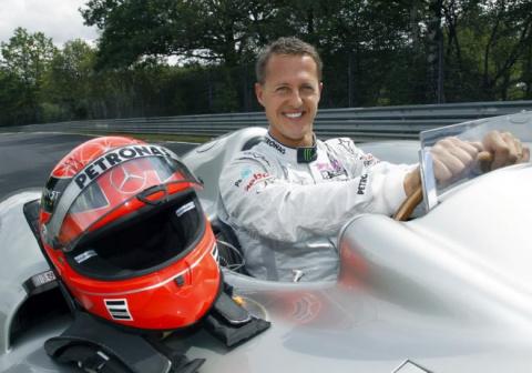 Немцы напомнят о Михаэле Шумахере выставкой его автомобилей