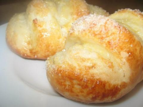 Ванильные булочки с сахаром …