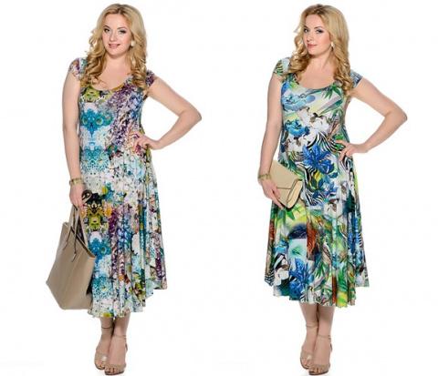 Летние платья для полных девушек — как сделать акцент на привлекательных сторонах фигуры