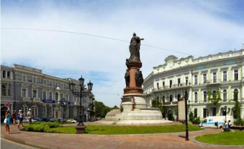 Одесса: Екатерининской площа…