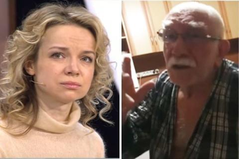 «Ты – страшная дешевка»: Цымбалюк-Романовская показала тайное домашнее видео Джигарханяна