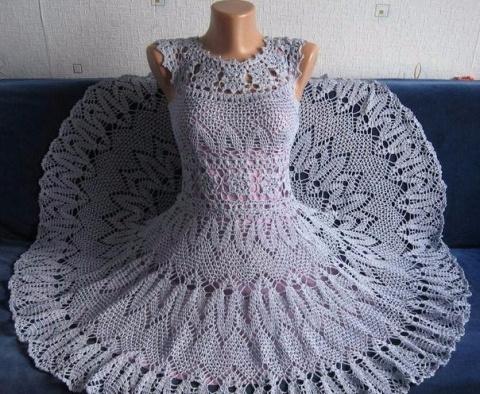 Платье ручной работы. Браво!