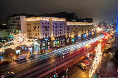 Невероятно крутая Москва