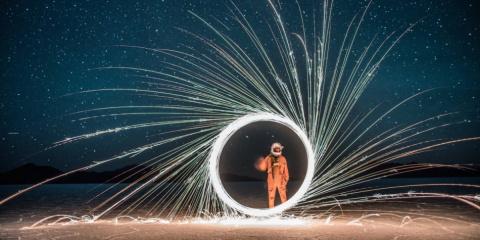 Как зажигали в космосе