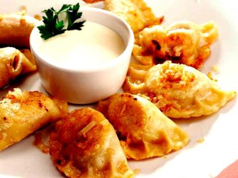 Рецепты по четвергам. Клёцки, ньокки, галушки, вареники. Вареники с мясом (вып. 6)