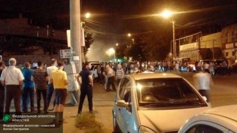 Что там у армян: ночная битв…