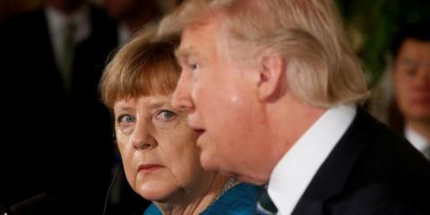 Меркель пришлось 11 раз повторять Трампу условия торговых сделок с ФРГ