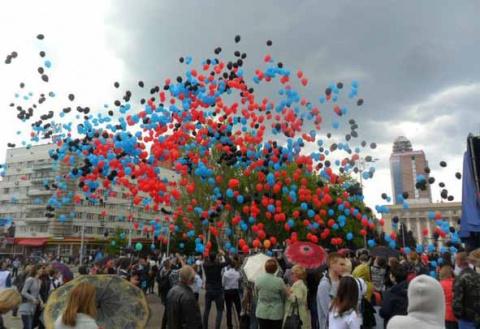 Донецк – в преддверии майски…