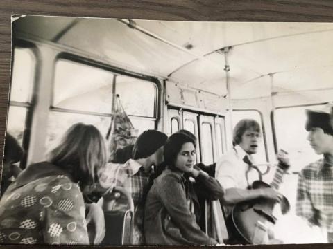 ~1978 Домой Драникова Ира. вожатый Дядчев
