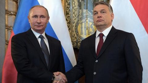 Путин угоняет Венгрию. Европа в шоке