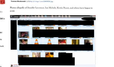 Хакеры выложили интимные фото Дженнифер Лоуренс, Кейт Аптон и других «звезд»