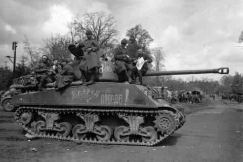 Интервью советского танкиста…
