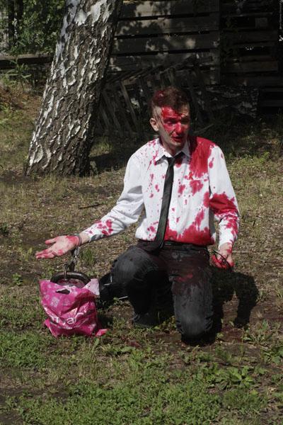 Настучали по Голаве. Публично наказан гей-либерал-антиклерикал-активист