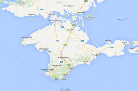 Власти Крыма: в Google страдают топографическим кретинизмом