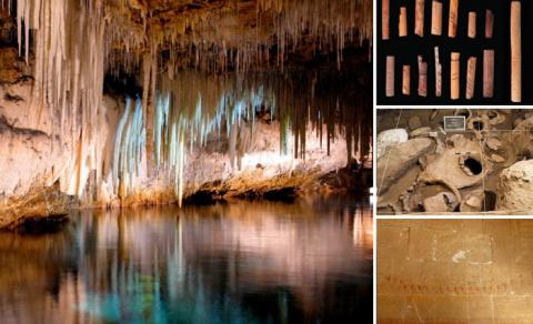 10 древних пещер, которые и …