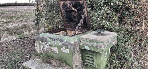 На востоке Англии обнаружили бункер, в котором можно пережить ядерную войну
