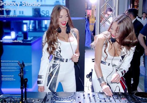 В ТЦ «Метрополис» состоялось открытие Samsung Galaxy Studio