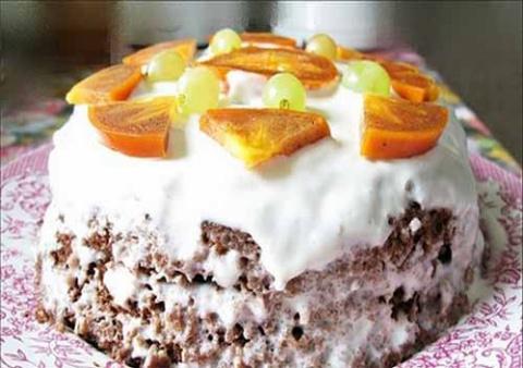 Быстрый бисквитный тортик в …