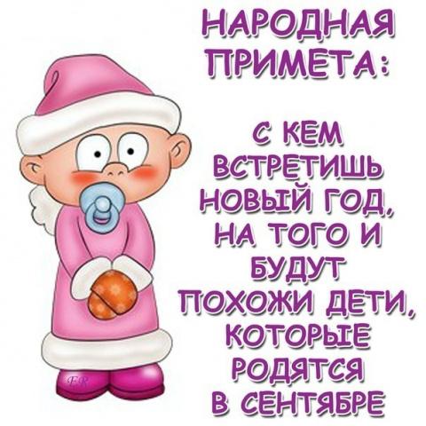 Новогодние приметы или Как НГ встретишь....))