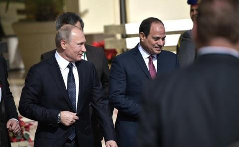 Лидеры РФ и Египта одобрили рекордную сделку по АЭС