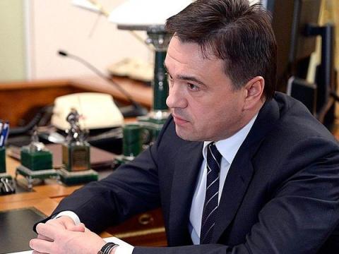 Путина попросили об отставке губернатора Подмосковья