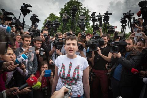 Савченко решила стать презид…