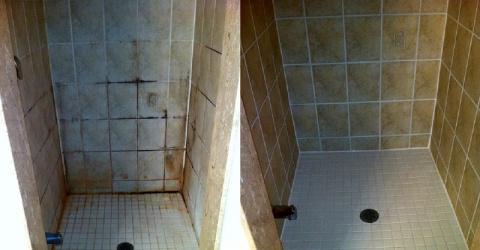 Как отмыть плитку в ванной: …