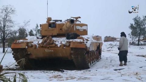 Турки в Сирии меняют щит на меч