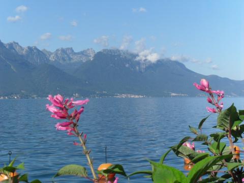 Красивейшее  место  на  Швейцарской  Ривьере