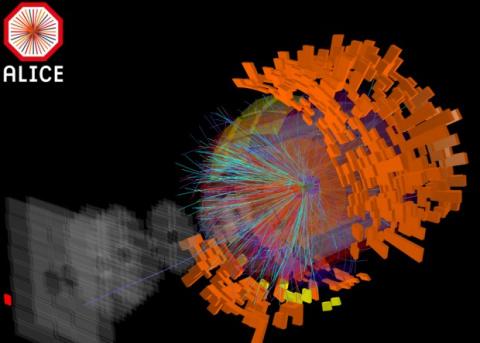 Большой адронный коллайдер на день перешел на ксенон
