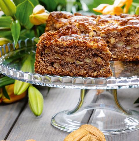 Ореховый Спас: ореховый пирог