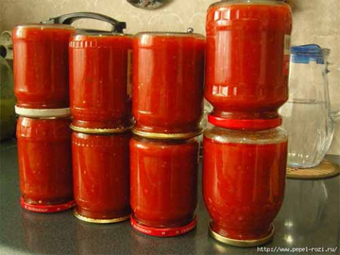 Запасаемся вкуснейшим кетчупом