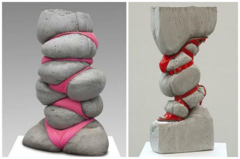 А вы угадаете, какие социальные проблемы общества освещают эти арт-объекты?