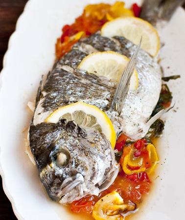 Рыба в духовке или мультивар…