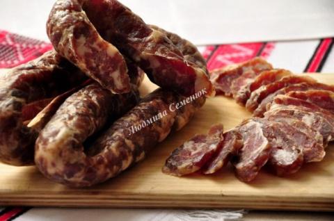 Домашняя колбаса от Мечеслав…